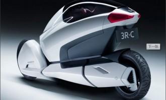 Honda 3R-C本田概念三轮电动车